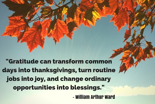 A Thanksgiving Exercise in Gratitude | Aspire Business Development