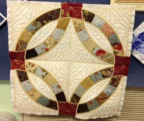 Anita Goodesign Wedding Ring Quilt   Machine Embroidery