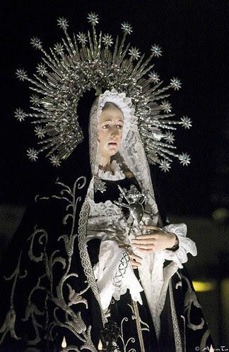 Virgen de los Dolores de la Hermandad de la Dolorosa