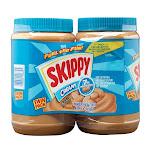 Skippy Peanut Butter, Creamy, 48 oz, 2-count