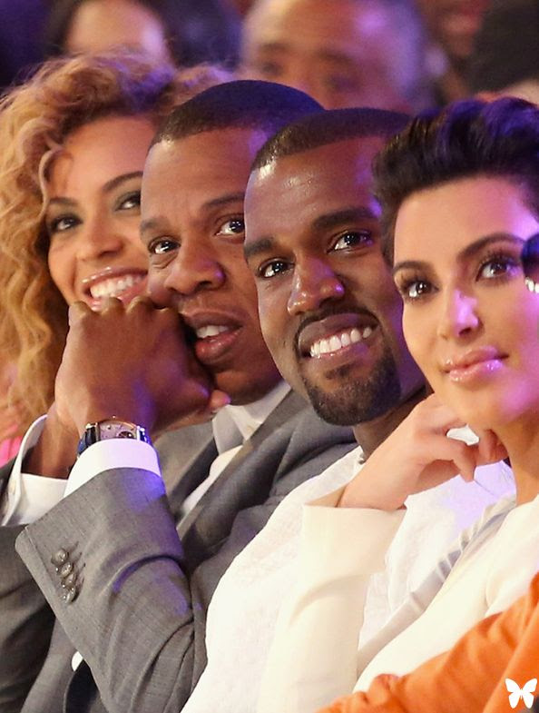 2012 BET Awards, Beyonce, Jay Z, Kim Kardashian, Kanye West