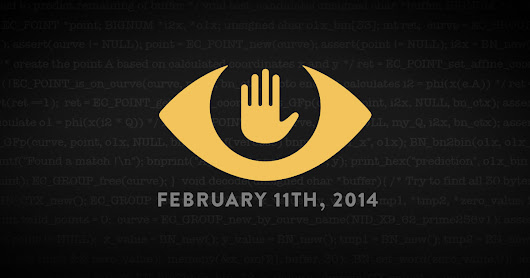 Today, February 11th 2014, Thousands of Websites are Protesting Surveillance.