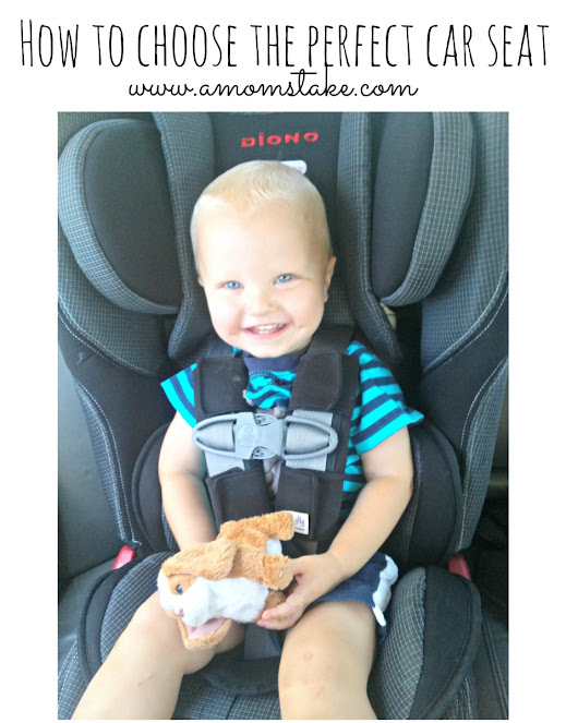 How to choose the perfect car seat - A Mom's Take