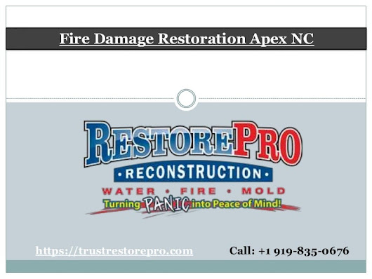 Fire Damage Restoration Apex NC