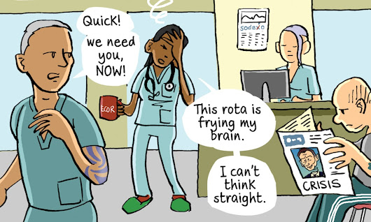 Junior doctors:​ ​going back to the bad old days? – cartoon