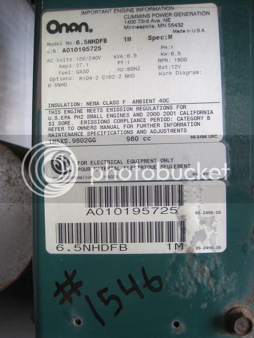 6 5 Kw Onan Wiring Diagram