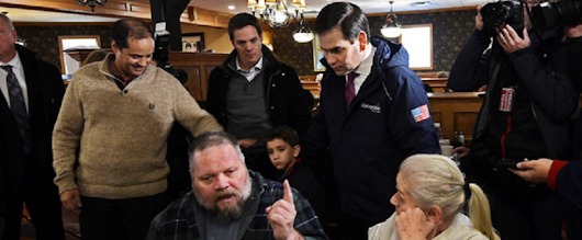 Rubio's Same-Sex Marriage Gaffe in New Hampshire