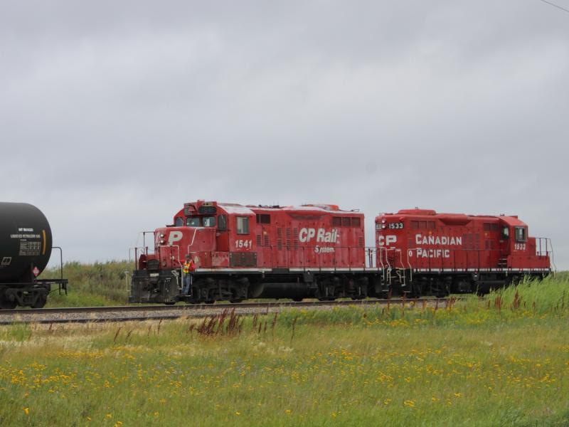 CP 1541 and CP 1533 in Regina