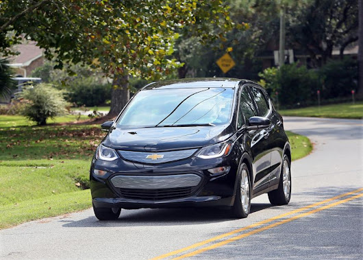 Bolting out front -- New Chevrolet electric hatchback touts long distances between charges, technological perks