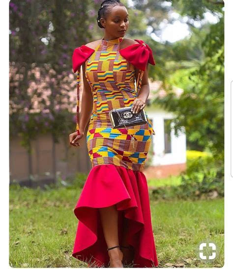 Beautiful African Dress for Wedding   Ankara Dress   Ghana