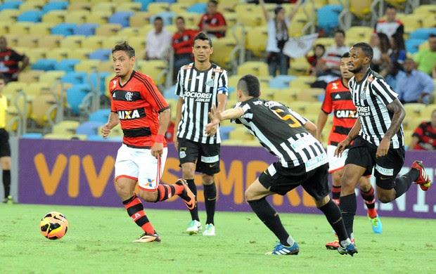 Carlos Eduardo Flamengo e Santos (Foto: Alexandre Vidal / Fla Imagem)