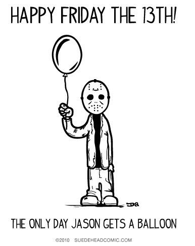 Funny Friday The 13th Clipart