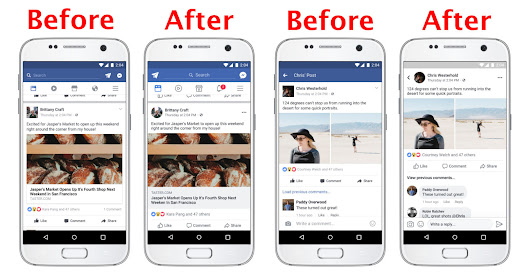 Facebook has a new look - come spot the differences