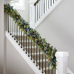 9' Pre-lit LED Artificial Greenery Garland