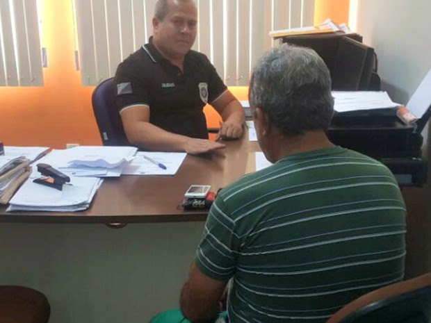 Homem fez armadilha para pegar quem estava invadindo sua lanchonete  (Foto: Anny Barbosa/G1)