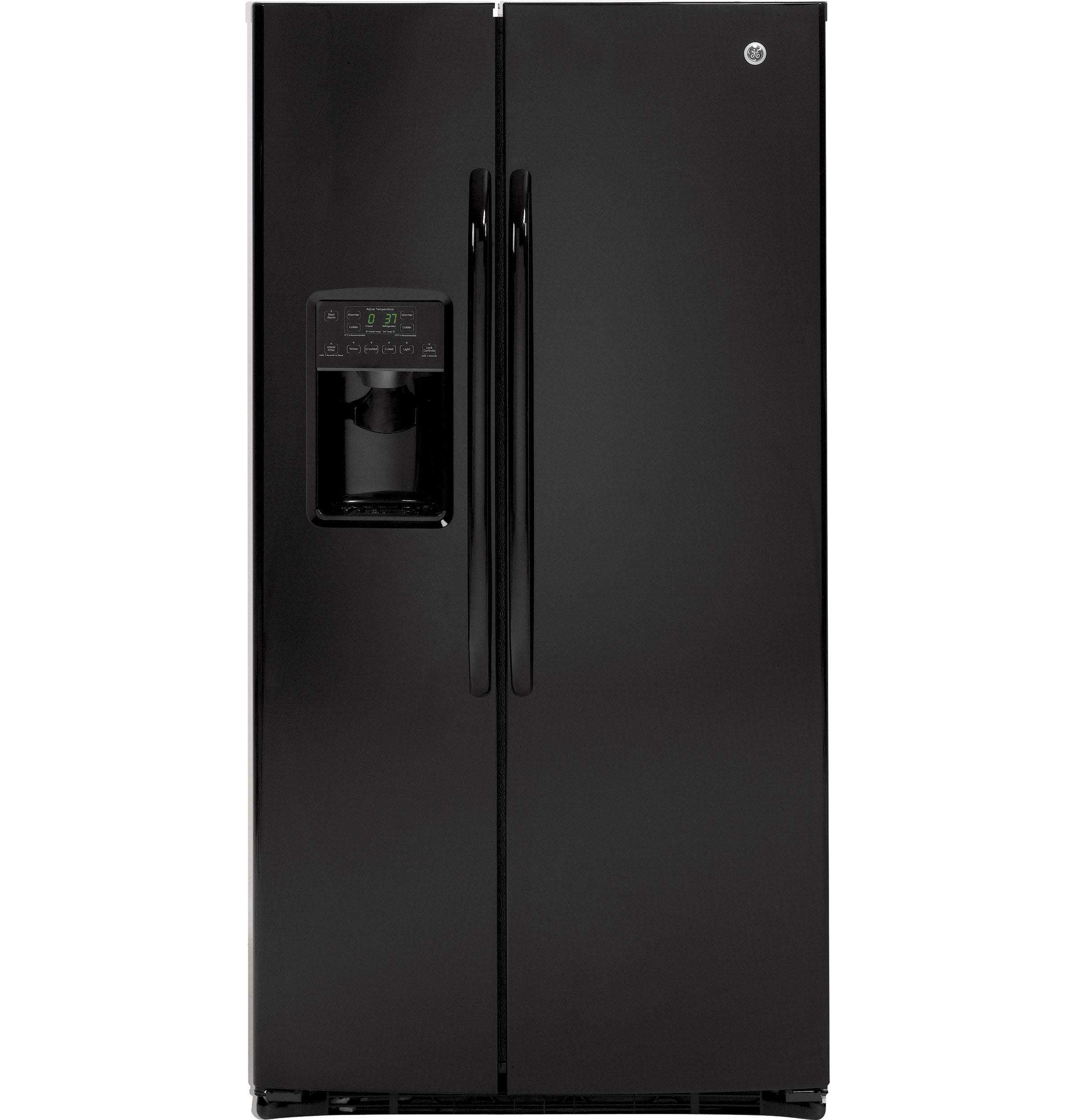 GE ENERGY STAR 25 9 Cu Ft Side By Side Refrigerator with