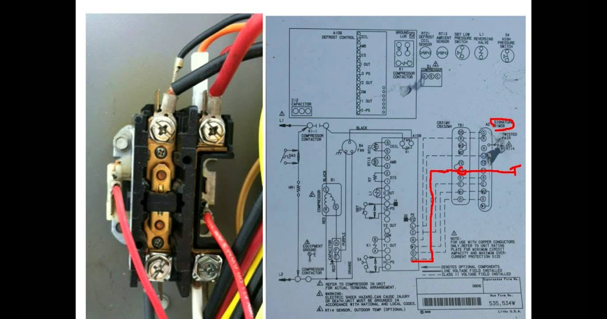 Air Conditioning Contactor Wiring