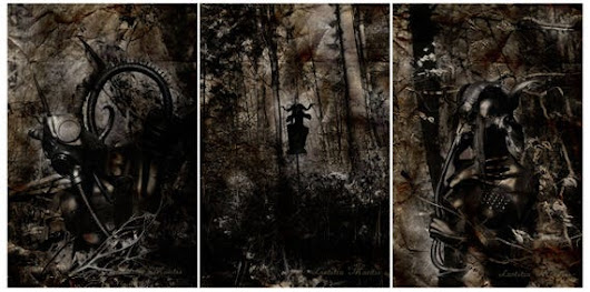 The Arrival Triptychon | 3 prints a 20 x 30 cm | SPECIAL SALE PRICE