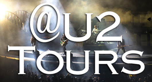@U2 Tours Update #1: Six Tours Complete, Hundreds of U2 Shows Updated