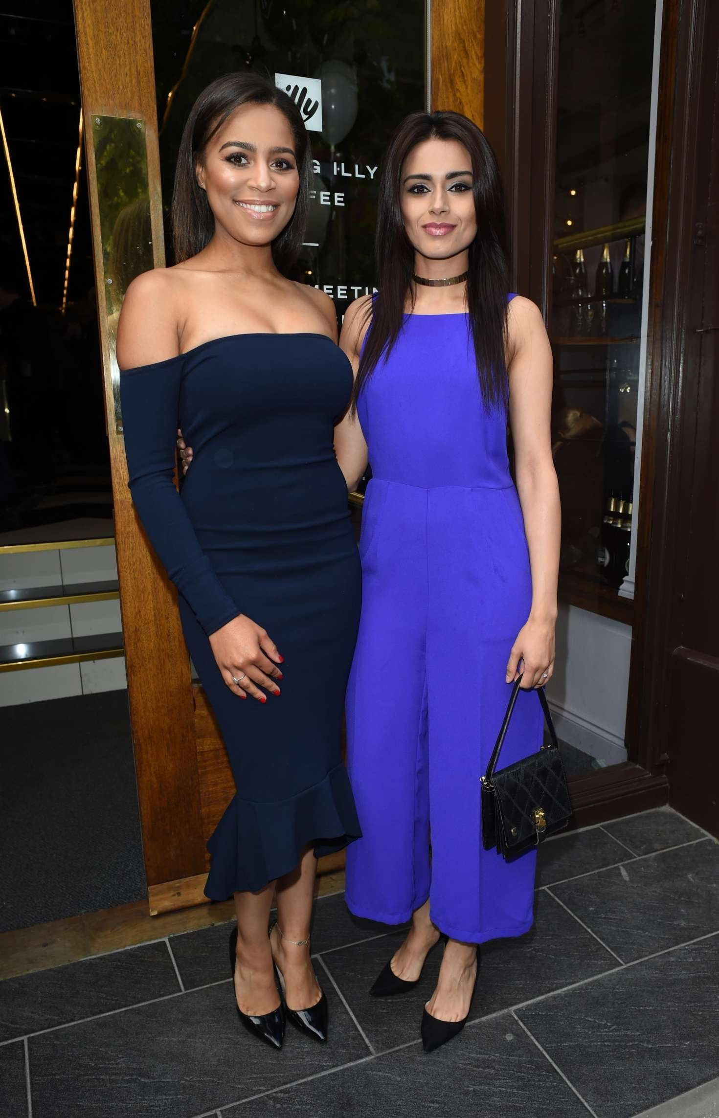 Bhavna Limbachia and Tisha Merry – Brasserie Abode Launch in Manchester