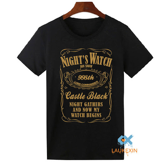 Game of Thrones T Shirt Mens Nights Watch Jon Snow TV Show Tops Tee Shirts Homme Camisetas Summer T-Shirt Men Tshirt S-2XL