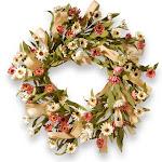 National Tree Company 22 in. Sunflower Wreath