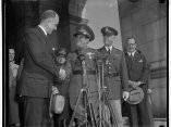 El dictador Fulgencio Batista y el Secretario de Estado Welles, en Washington 1938
