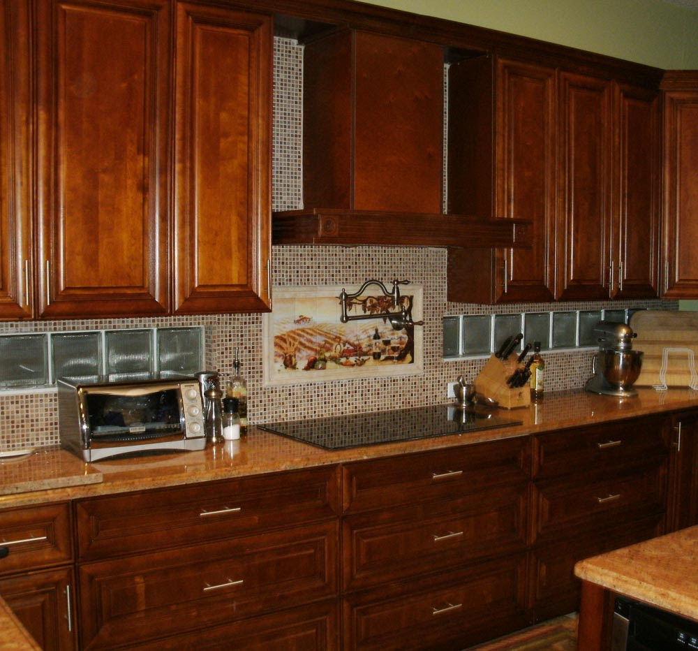 kitchen backsplash ideas with cream cabinets | Home ...