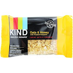 Kind Bar Healthy Grains Bars Oats & Honey with Toasted Coconut 5 Bars