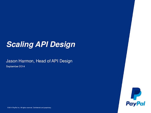 Scaling API Design