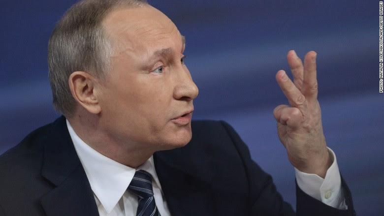 Vladimir Putin counting