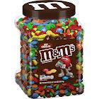 Mars M&M's Milk Chocolate Candies - 62 oz jar