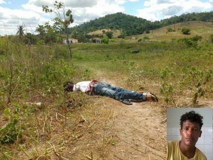 Polícia Militar compareceu ao local do crime (Foto: Ubatã Notícias)