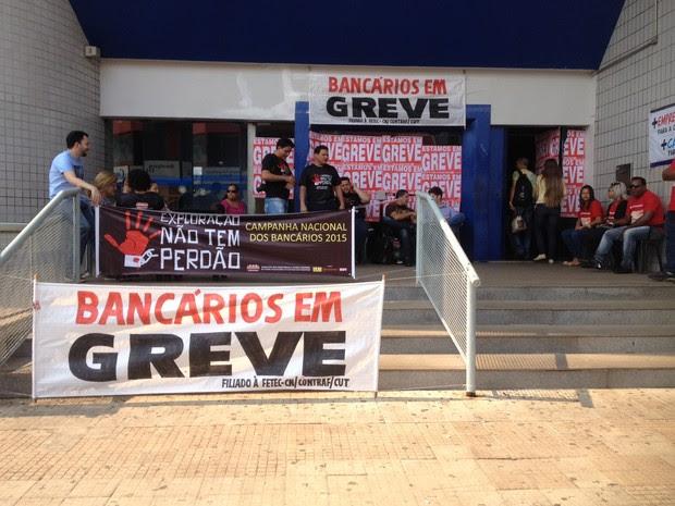 Resultado de imagem para greve bancario ro