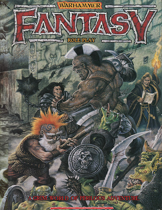 Episode 24 (Part 1) WARHAMMER Fantasy Role Play (with Graeme Davis)
