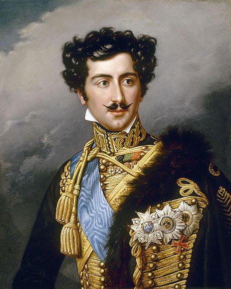 Oscar of Sweden (Joseph Stieler)