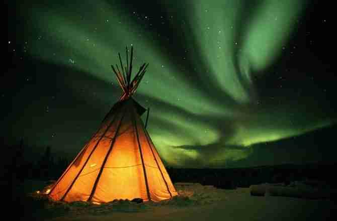 Το Βόρειο Σέλας (Aurora Borealis)