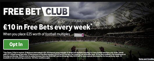 Betway Free Bet Club Offer | £10 Free Bets | Bet Online UK