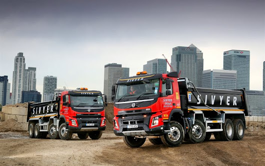 Download wallpapers Volvo FMX, 2017, Sivyer, special machinery, trucks, career, Volvo for desktop free. Pictures for desktop free