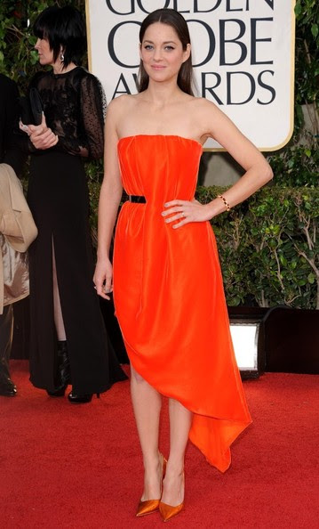 Marion Cotillard - 70th Annual Golden Globe Awards