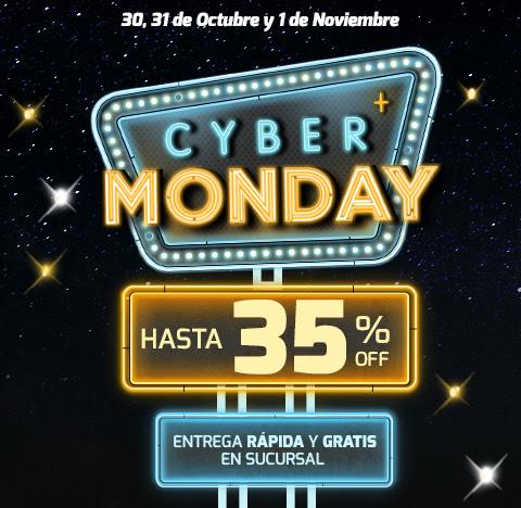 CYBER MONDAY - HASTA 35% OFF - Entrega rápida y gratis en sucursal
