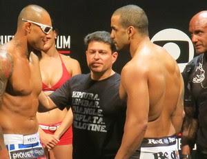 Rafael Feijão Thiago Silva UFC Brasil (Foto: Adriano Albuquerque)