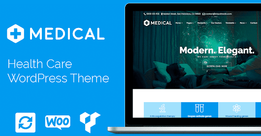 Medical WordPress Theme - Health Care Template by Visualmodo