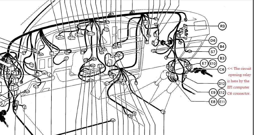 Picture Of 81 Toyotum Pickup 22r Engine Diagram