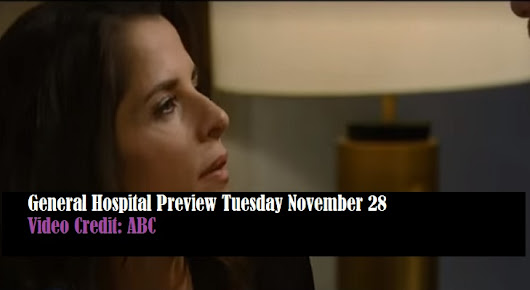 WATCH: General Hospital (GH) Preview Tuesday November 28 Ava Risks Her Life - Soap Opera Spy
