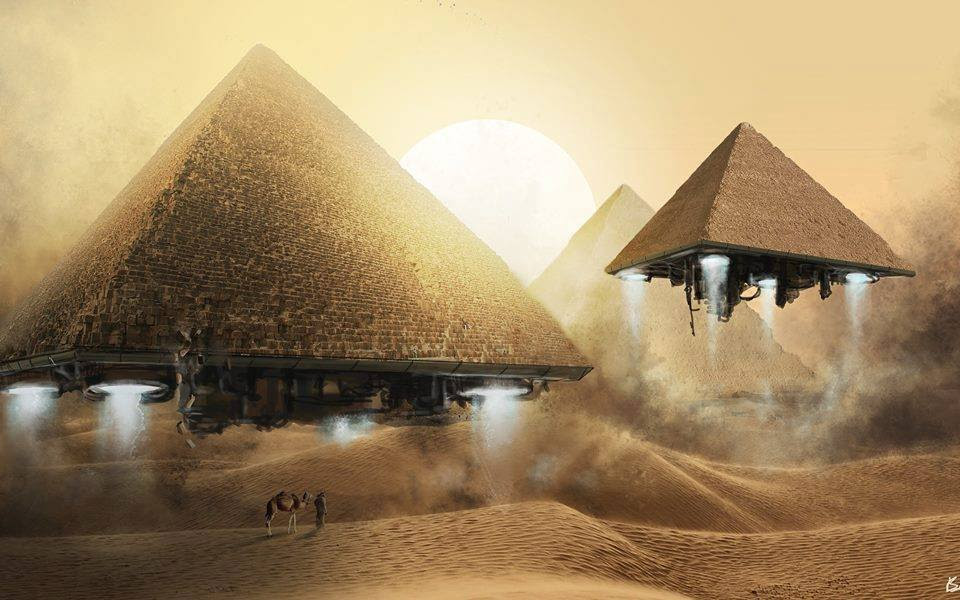 Pharaohs Estrangeiro antigo?