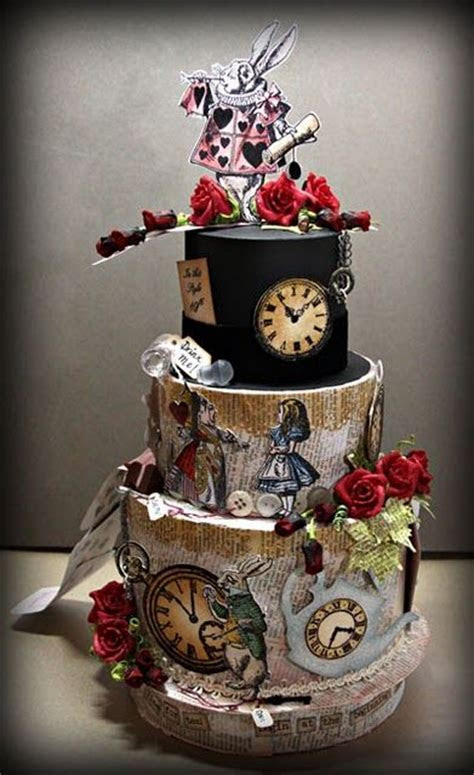 25  best ideas about Mad hatter cake on Pinterest