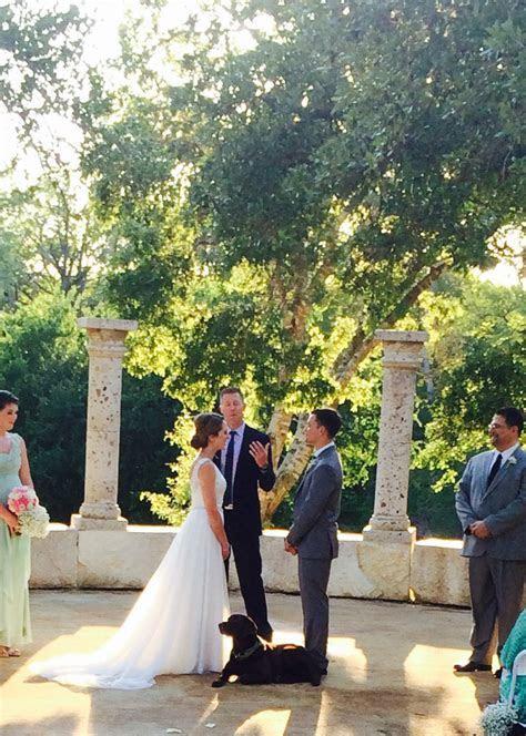 Ceremonies   Austin Creekside Wedding