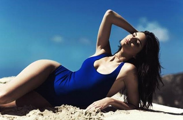 Swimwear line: Kendall and Kylie's new line of swimsuits for Topshop go on sale tomorrow