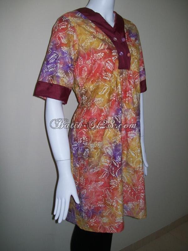 Jual Murah Baju Wanita Model Terbaru Untuk Busana Lebaran [BLS036]  Toko Batik Online 2019
